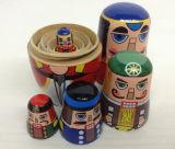 Arte de madera de la aduana DIY Rusia Matreshkas para el recuerdo del regalo del recorrido