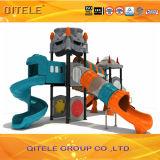 Kind-Spielplatz-Gerät mit Plättchen und '' galvanisiertem Pfosten 5