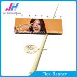 La pubblicità esterna ha laminato il rullo della bandiera della flessione del vinile Backlit PVC