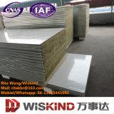 Alto el panel de emparedado de acero de las lanas de roca del color de Quliaty con ISO9001