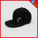 Sombrero de encargo del Snapback del bordado del panel de la púrpura 6