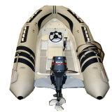高品質3.8メートルの販売のための膨脹可能な肋骨のボート5-6persons