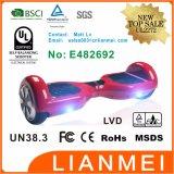 Twee Wiel Hoverboard met Spreker Bluetooth, 2 Zwarte Elektro van het Wiel hangt Raad, Shell van de Douane Autoped
