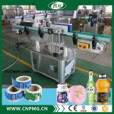 Machine à étiquettes de collant automatique pour les bouteilles rondes