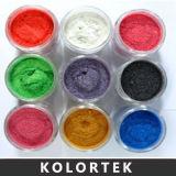 Pigmenti multicolori della perla di vendita calda nella lacca del chiodo