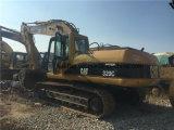 Excavador usado alta calidad de la correa eslabonada de la oruga 320c del gato para la venta