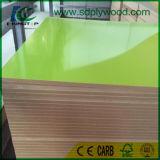 Grano de madera papel de la melamina hizo frente al MDF para muebles