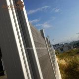 Fácil al aire libre a la cerca compuesta del aluminio WPC de la instalación para el jardín