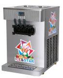 Crême glacée de préréfrigération Ice&Star de service doux de machine de crême glacée de refroidissement à l'air