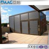 Cerca de aluminio de las ventas calientes/listón de aluminio