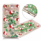 Telefon-Deckel des Weihnachtsfunkeln-glänzender flüssiger Sand-TPU für iPhone 6plus