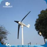 moinho de vento horizontal do gerador das energias eólicas da linha central das lâminas de 1kw/2kw Ce/RoHS três