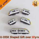 USB de encargo único Pendrive del tren del PVC 3D para los regalos ferroviarios (YT-6668)