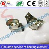 Socket de alta temperatura del orificio del acero inoxidable dos para el calentador de venda