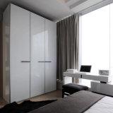 De nieuwe Houten Kast van de Kast van de Garderobe van de Slaapkamer van de Melamine voor het Project van het Hotel