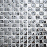 Mosaico de cristal de diamante para decoración de pared (FY123B)