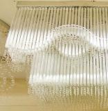 Lámpara cristalina extravagante del techo del chalet de Phine