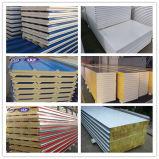 Billig 50mm-200mm Stärken-Felsen Wool/EPS/PU-Zwischenlage-Panel