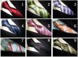 (PStrip6-9) Soie tissée par jacquard de Soild, la cravate des hommes de cravate de polyester