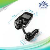 Adattatore Hands-Free senza fili della ricevente del giocatore di musica del MP3 del trasmettitore del kit FM dell'automobile di T10 Bluetooth