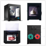 De lCD-aanraking 200X200X200building rangschikt Machine van de Printer van de Desktop van de Hoge Precisie van 0.1mm 3D