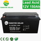 Bateria solar do baixo ciclo profundo do preço do competidor 12V 150ah