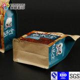 Größe kundenspezifischer Packpapier-Beutel mit flacher Unterseite