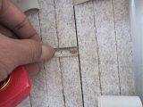 Pietra naturale della Cina tagliata per graduare le mattonelle secondo la misura bianche del granito della perla