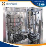 Glasflaschenreinigung/füllende/mit einer Kappe bedeckende Maschine 3in1