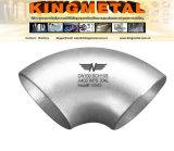 Des Krümmer-nahtloser 3D 2 1/2 Zoll En10253-3b 1.4404 (316L)/