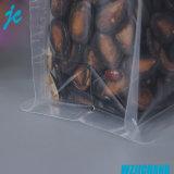 Los bolsos de empaquetado del sello lateral del plástico ocho de la categoría alimenticia se levantan la bolsa