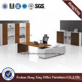 Muebles de oficinas blancos del vector ejecutivo del MDF del color (HX-5N426)