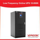 LCD 디스플레이 94%까지 저주파 온라인 UPS 효율성
