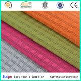 バックパックのための新しいデザインPU/PVC上塗を施してあるDuotone格子縞のジャカードファブリック