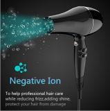 Secador de pelo 1875 vatios de corriente alterna con iones negativos y Alci enchufable para un cabello sano