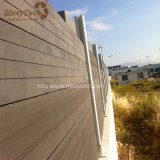 Fácil ao ar livre à cerca composta do alumínio WPC da instalação para o jardim