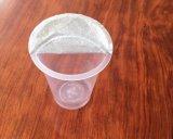 酪農場のプラスチックコップのための浮彫りにされたアルミホイルのふた