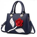 2017 bolsos populares de Stachel de la manera de la flor de Rose del bolso de las mujeres del diseño con la correa larga Sy8406