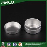 15g 1/2oz Portable Small Round Shape Aluminum Empty Skin Care Cream Unit of capacitance
