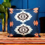 Palier de toile de coussin de cru de Kilim de type de rétro coton neuf d'Aztect