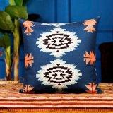 포도 수확 베개 Kilim 새로운 작풍 Retro Aztect 면 리넨 방석