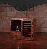 أثاث لازم بينيّة يتمّ [ألد ستل] [ديسبلي رك] خمر خزانة