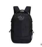 Bolso negro al por mayor popular del morral de la escuela del hombro del morral de la computadora portátil del bolso del morral del ordenador