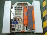 insieme di strumento rotativo di velocità variabile 162PC con l'imballaggio della gomma piuma