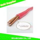 Collegare cavo elettrico/elettrico del rame del coperchio di PVC