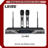 Microphone Ls-803 sans fil à canal double professionnel