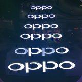 LED 채널 편지 사출 성형 Oppo 표시