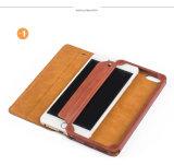 Caisse neuve de cuir de téléphone cellulaire pour l'iPhone
