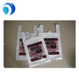 Полиэтиленовый пакет PE тенниски белый для упаковывая упаковки еды