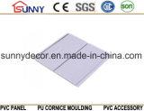 Preço de Pritning do painel de parede do painel de teto do PVC/PVC baixo e alta qualidade de madeira Cielo Raso De PVC